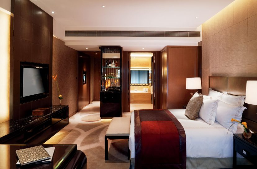 The Ritz Carlton Hong Kong Deluxe Room