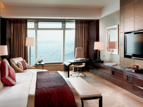 The Ritz Carlton Hong Kong Deluxe Seaview Room