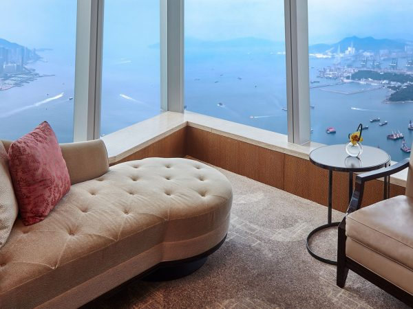 The Ritz Carlton Hong Kong Deluxe Suite