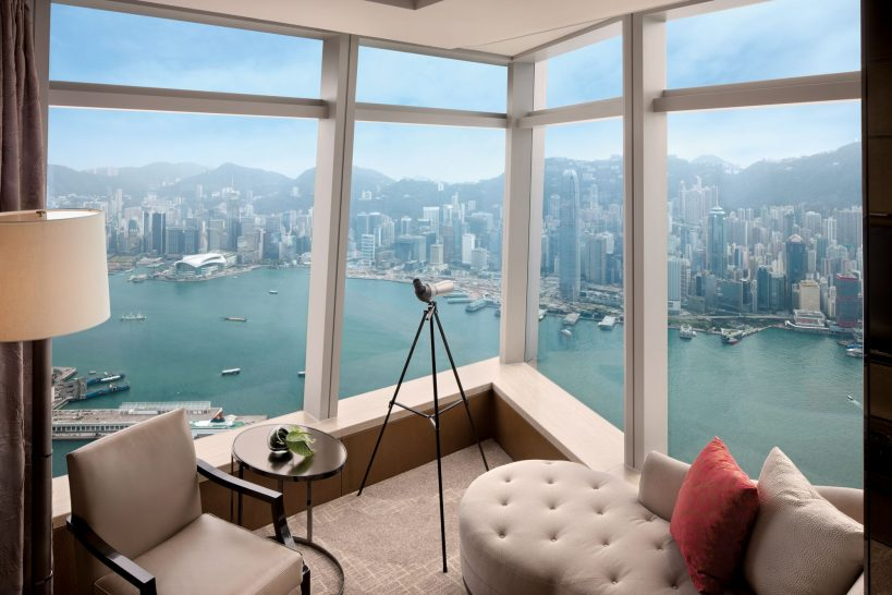 The Ritz Carlton Hong Kong Deluxe Victoria Harbour Suite