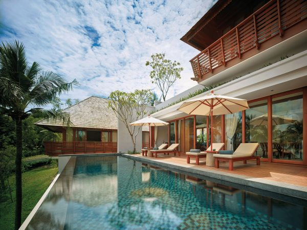 The Ritz Carlton Koh Samui Sea Pool Area