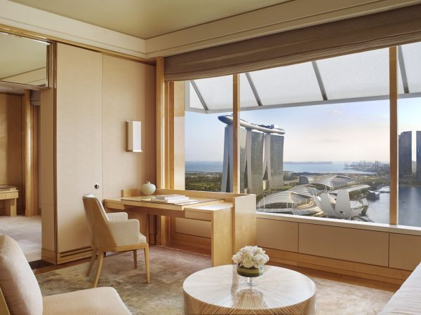 The Ritz Carlton Millenia Singapore Club Premier Suite