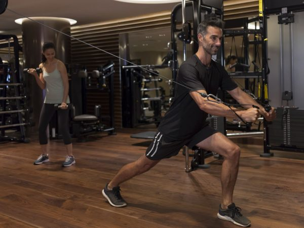 The Ritz Carlton Millenia Singapore Gym