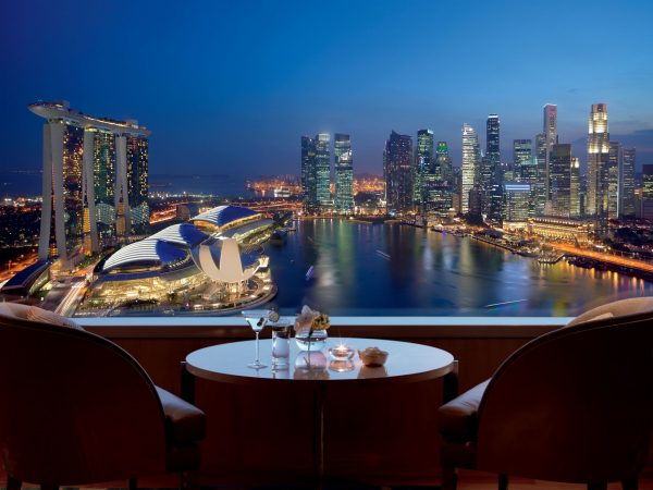 The Ritz Carlton Millenia Singapore View