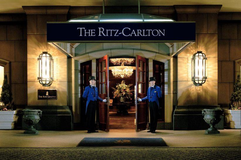 The Ritz Carlton Osaka Entrance