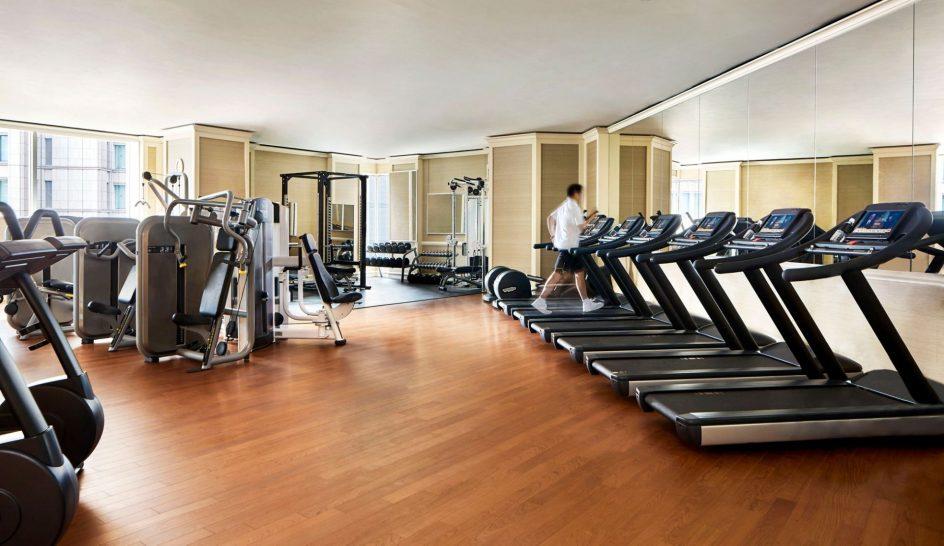 The Ritz Carlton Osaka Gym
