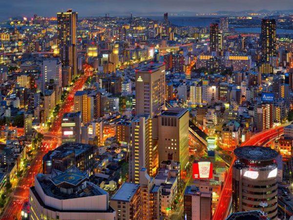 The Ritz Carlton Osaka Night View