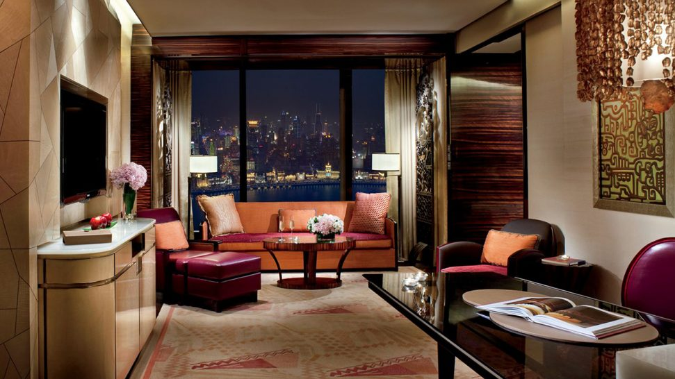 The Ritz Carlton Shanghai Pudong Club Deluxe Room