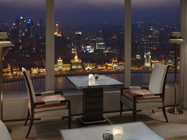 The Ritz Carlton Shanghai Pudong Club Panoramic Suite