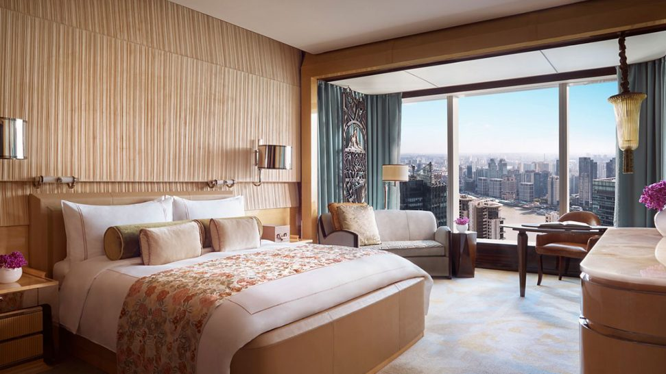 The Ritz Carlton Shanghai Pudong Deluxe Room