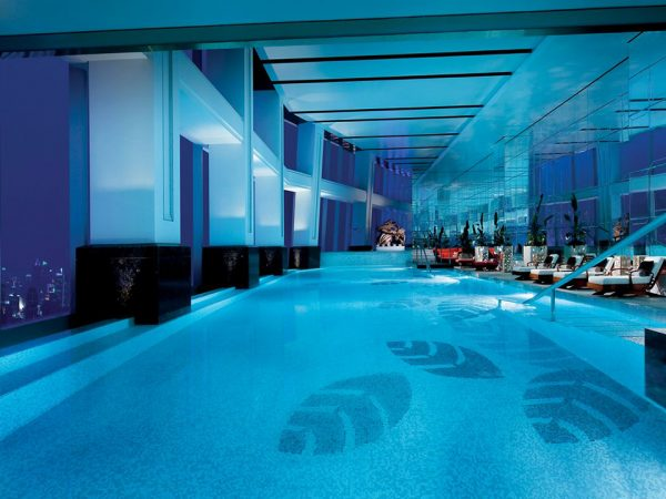 The Ritz Carlton Shanghai Pudong Indoor Pool