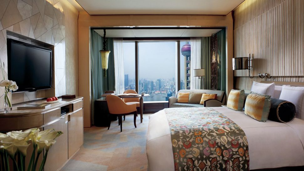 The Ritz Carlton Shanghai Pudong Pearl Tower View Room