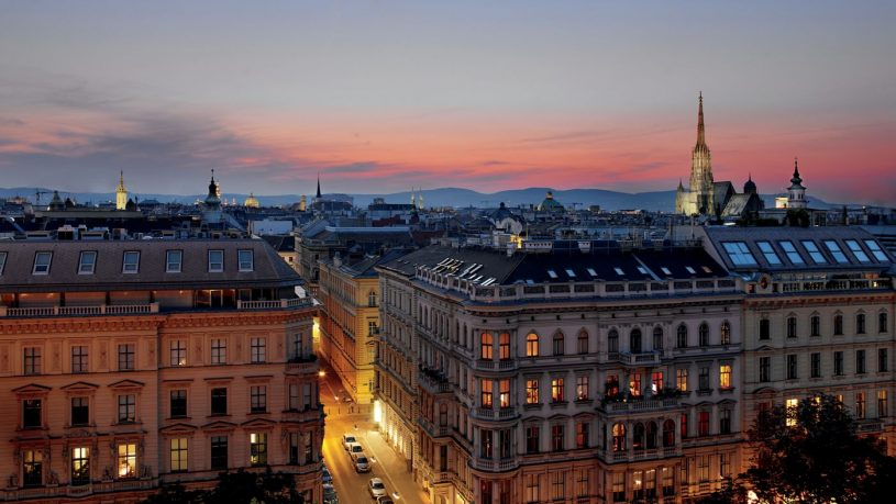 The Ritz Carlton Vienna Night View