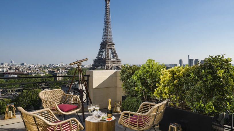 The Shangri La Paris Terrace
