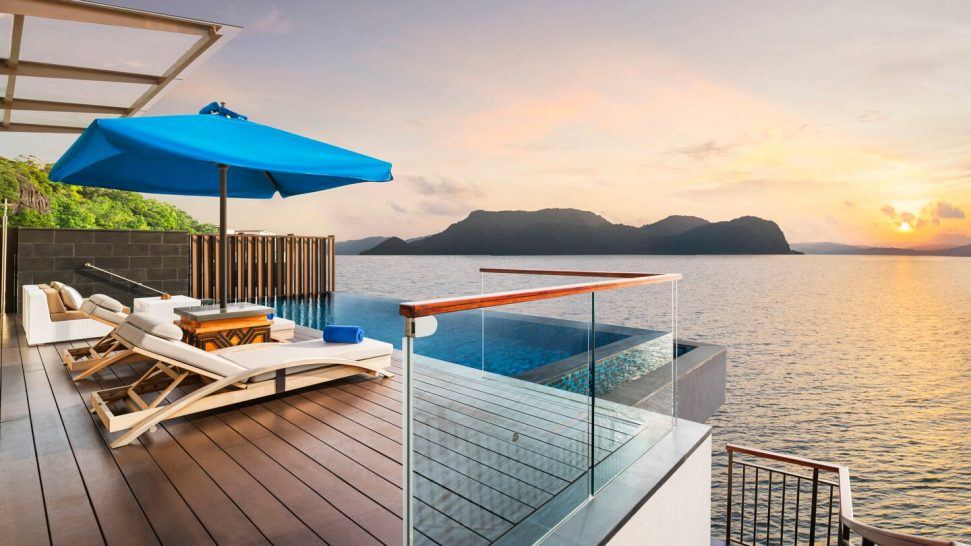 The St. Regis Langkawi sunset pool villa
