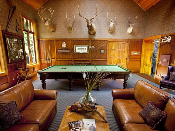 Treetops Lodge Estate Billards Room