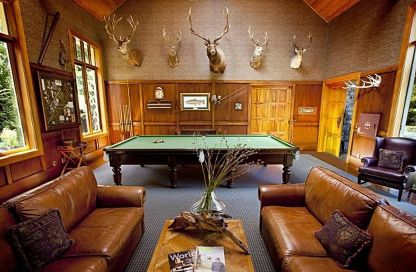 Treetops Lodge and Estate Rotorua New Zealand Billiards