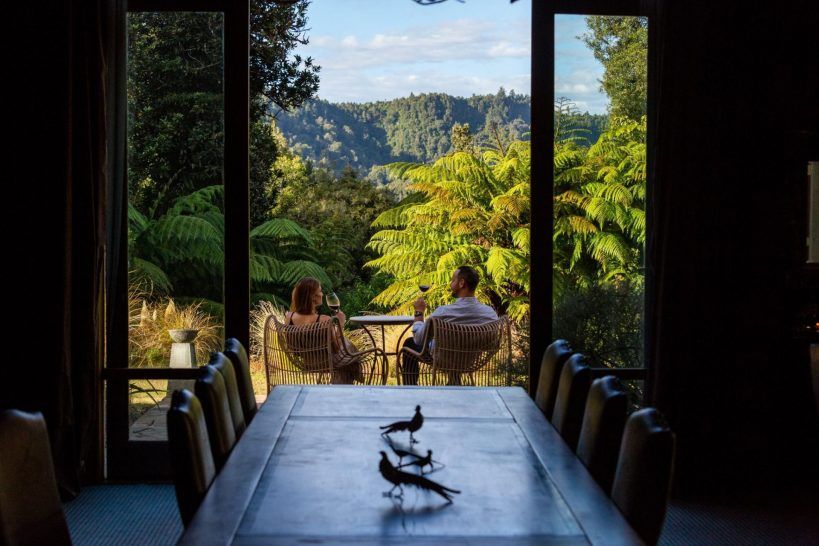 Treetops Lodge and Estate Rotorua New Zealand Romantic Dining