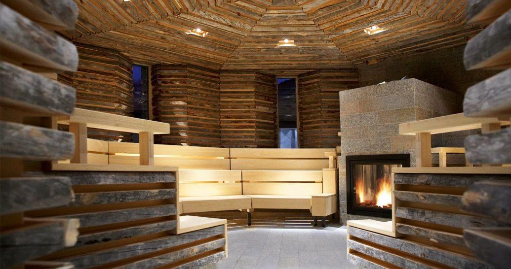 Tschuggen Grand Hotel Arosa Bergoase Spa Sauna