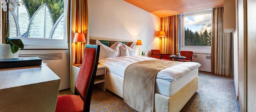 Tschuggen Grand Hotel Bergoase Single Room