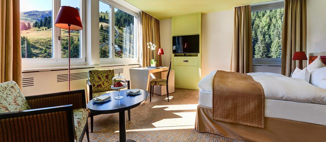 Tschuggen Grand Hotel Bergoasen Double Room