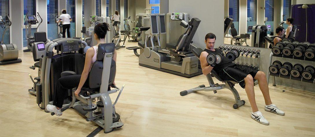Tschuggen Grand Hotel Gym
