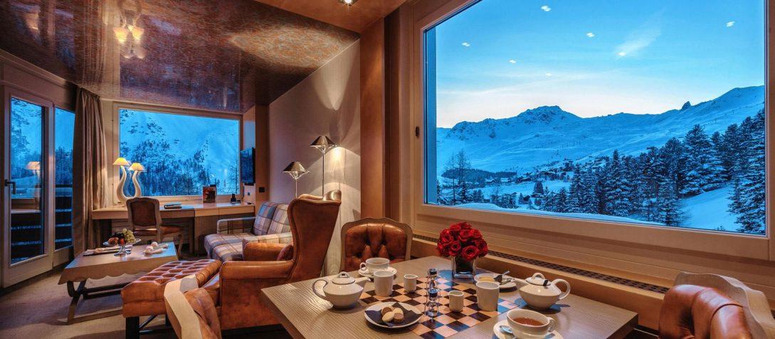 Tschuggen Grand Hotel Junior Suites