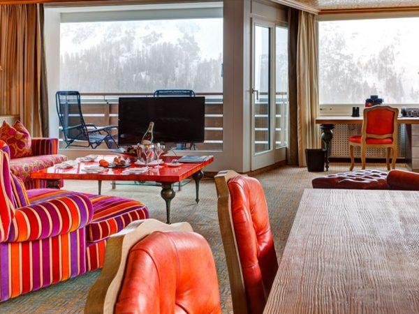 Tschuggen Grand Hotel Tschuggen Suite