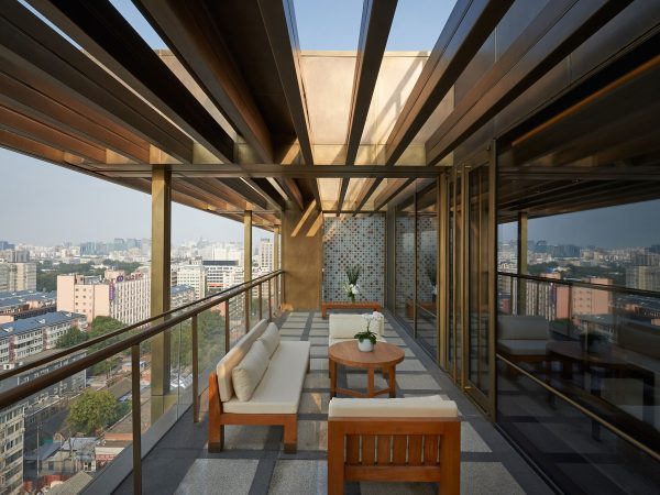Waldorf Astoria Beijing Balcony