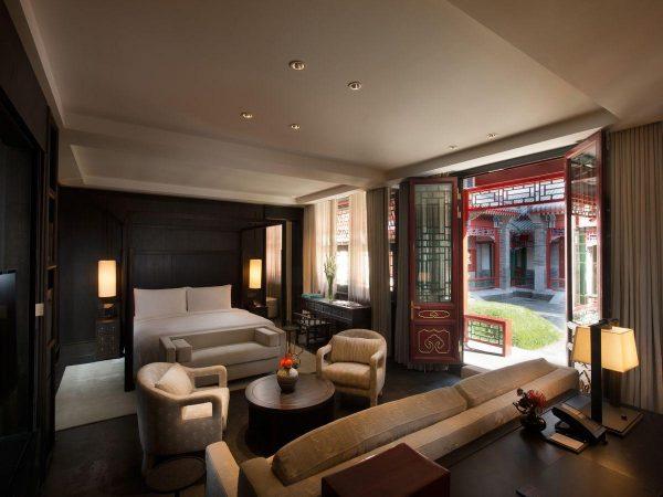 Waldorf Astoria Beijing Hutong Courtyard Suite