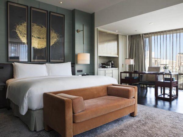 Waldorf Astoria Beijing King Perimer Corner Room