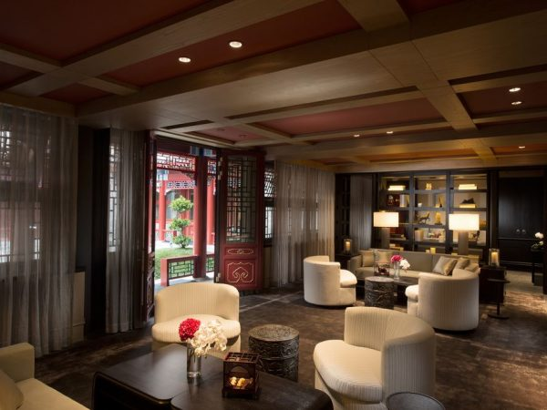 Waldorf Astoria Beiling Waldorf Hutong Villa Living Room