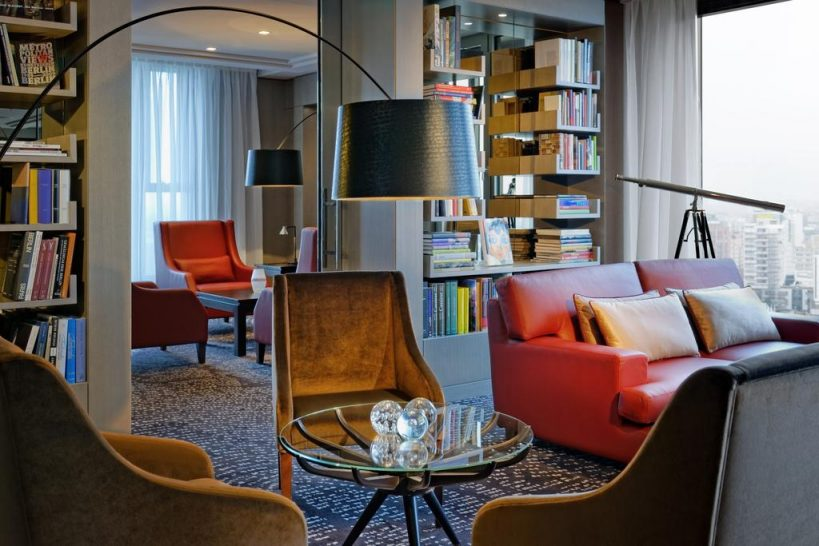 Waldorf Astoria Berlin Library Lounge