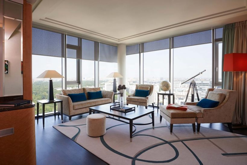 Waldorf Astoria Berlin Twin Tower Suite