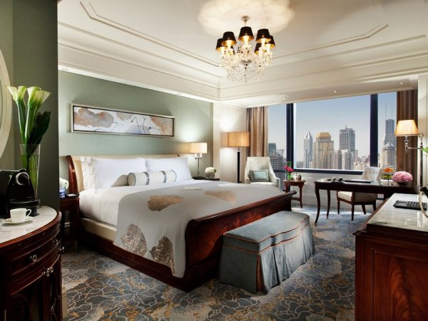 Waldorf Astoria Shanghai On The Bund Deluxe City View Room