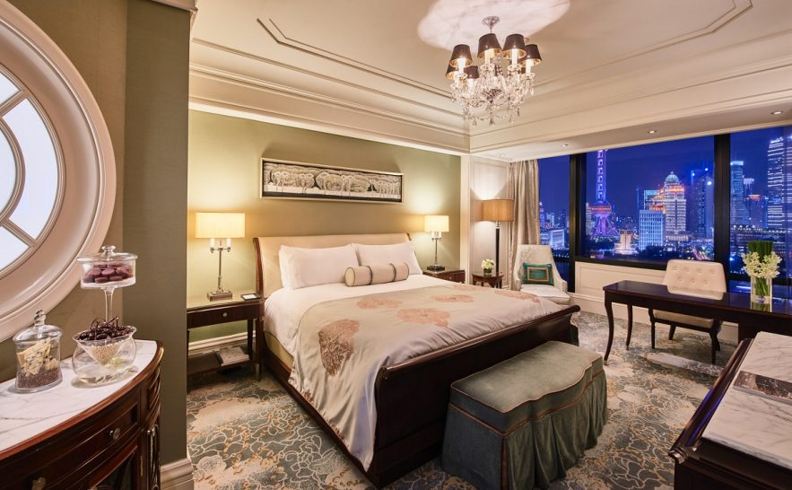 Waldorf Astoria Shanghai On The Bund Deluxe Panorama River View Room