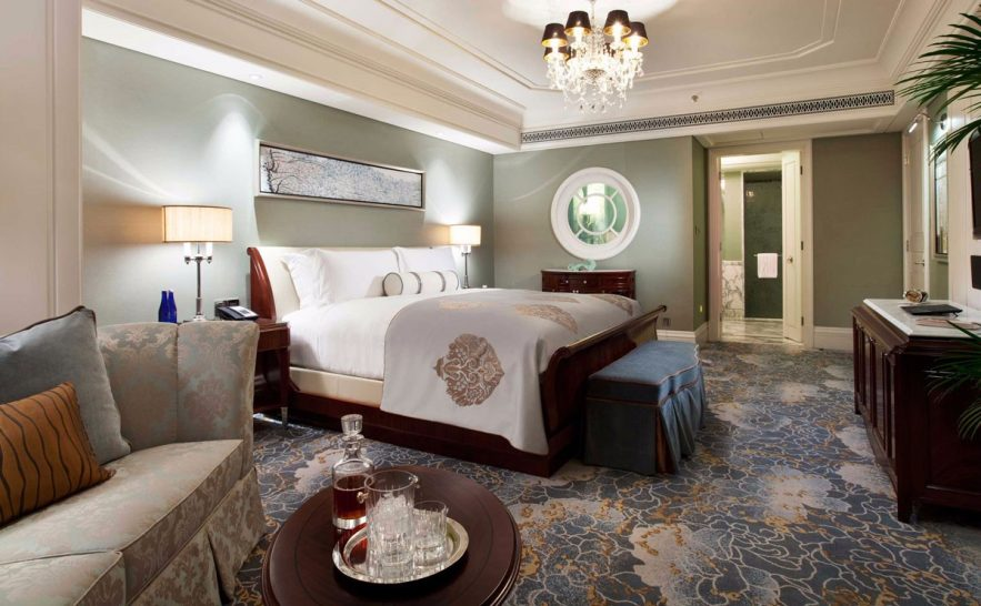 Waldorf Astoria Shanghai On The Bund Junior Suite
