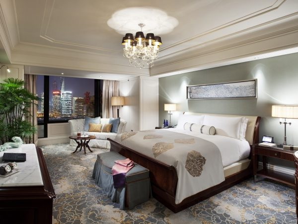 Waldorf Astoria Shanghai On The Bund Luxury Panorama River View Suite