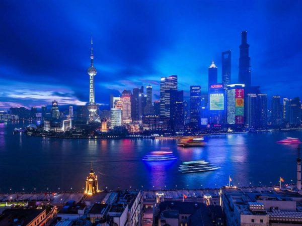 Waldorf Astoria Shanghai On The Bund Night View