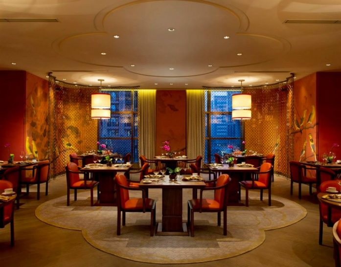 Zijin Mansion main dining room Waldorf Astoria Beijing