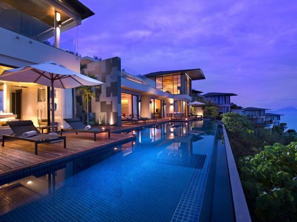Conrad Koh Samui 1 king, 2 Twin Bedrooms, Ocean View Pool Villa
