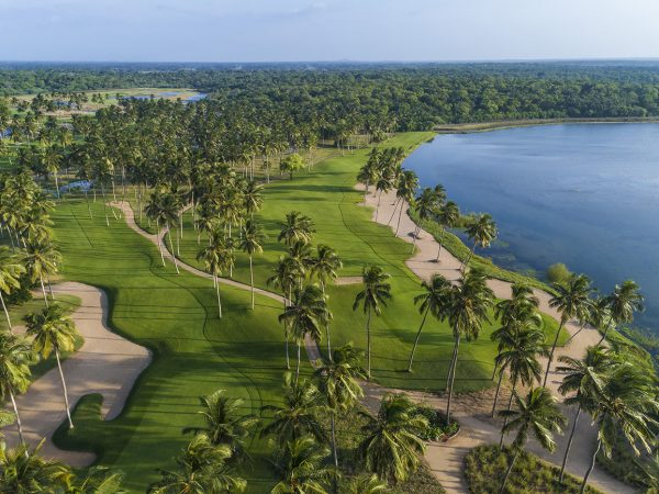 Shangri La Hambantota Sri Lanka Golf Aerial