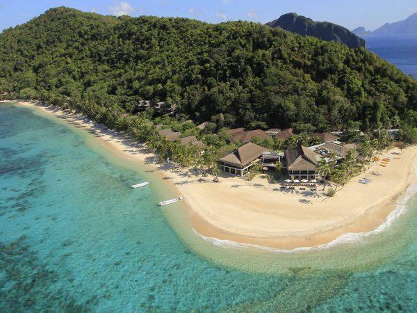 Pangulasian Island Resort Aerial View