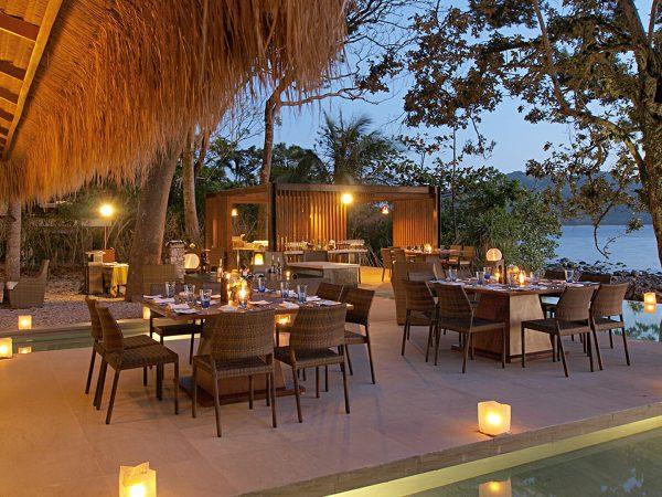 Pangulasian Island Resort hotel Restaurant