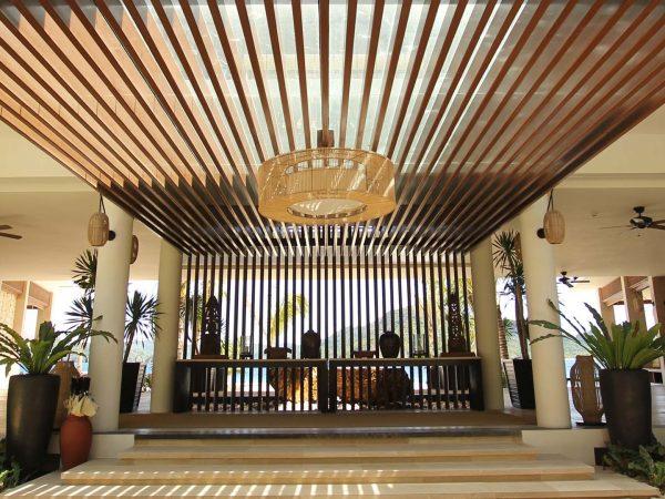 Pangulasian Island Resort Hotel front