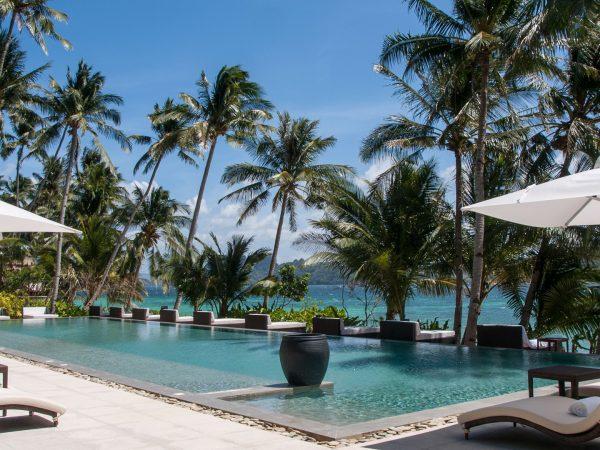 Pangulasian Island Resort Main Pool