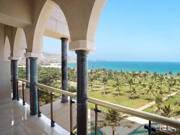 Al Bustan Palace A Ritz Carlton Hotel Balcony