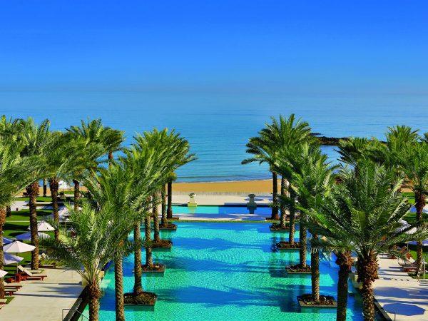 Al Bustan Palace A Ritz Carlton Hotel Beach