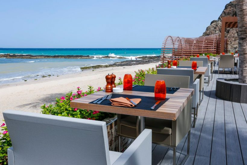 Al Bustan Palace A Ritz Carlton Hotel Beach Pavilion Bar and Grill