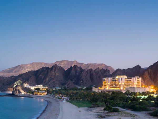 Al Bustan Palace A Ritz Carlton Hotel Beach Sunset